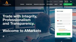 Amarkets main page