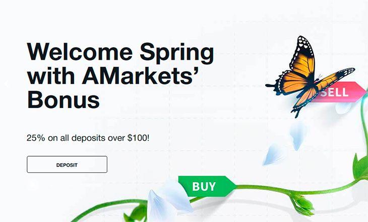 Amarkets forex bonus