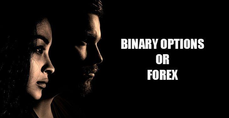 Trading Biner versus Forex