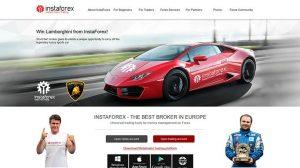 Instaforex main page