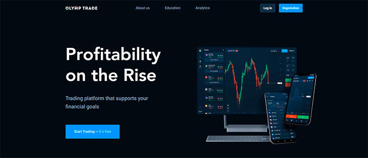 OLYMPTRADE FOREX REVIEW