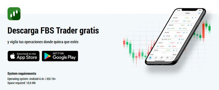 FBS Trader app