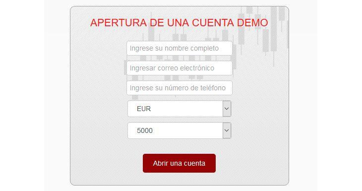 Cómo abrir una cuenta demo gratuita