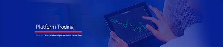 Pilih platform trading
