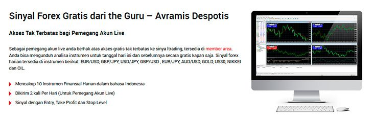 XM Forex daftar instrumen trading