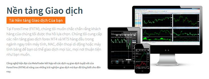 FXTM nền tảng giao dịch