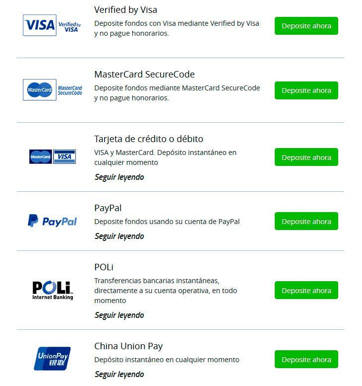 ¿Qué tipos de cuentas bancarias son aceptadas por los corredores de divisas?
