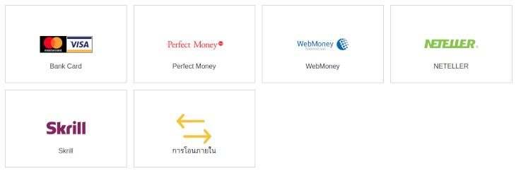 การนำเงินเข้า-ออก