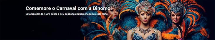 Comemore o Carnaval com a Binomo!