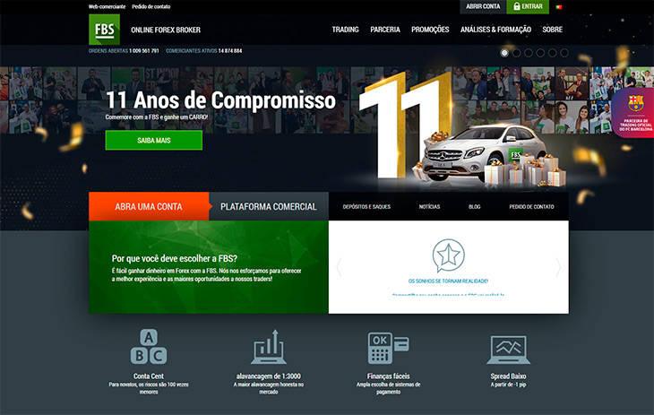 FBS Forex Brasil