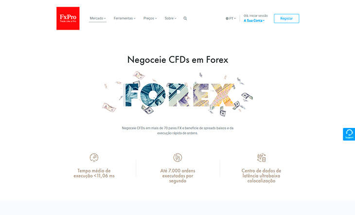 FX Pro home page