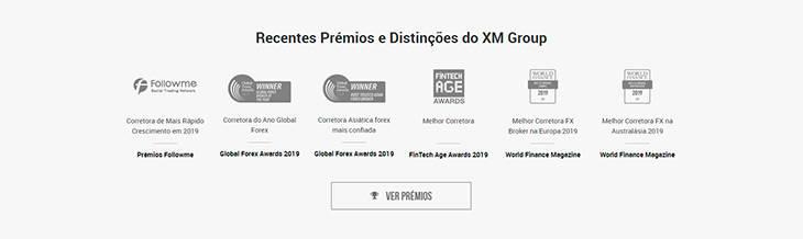 Recentes Prémios e Distinções do XM Group