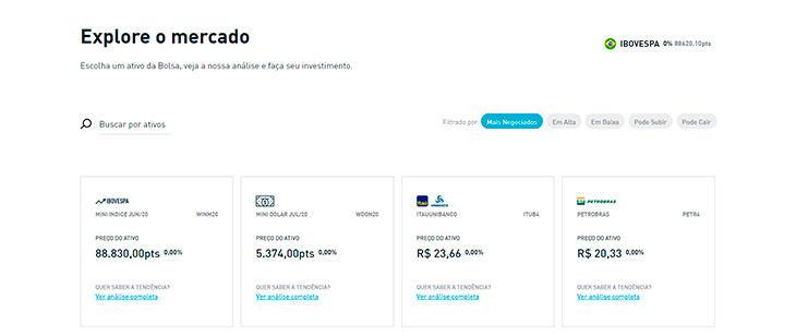 Quais são os ativos da Toro Investimentos?